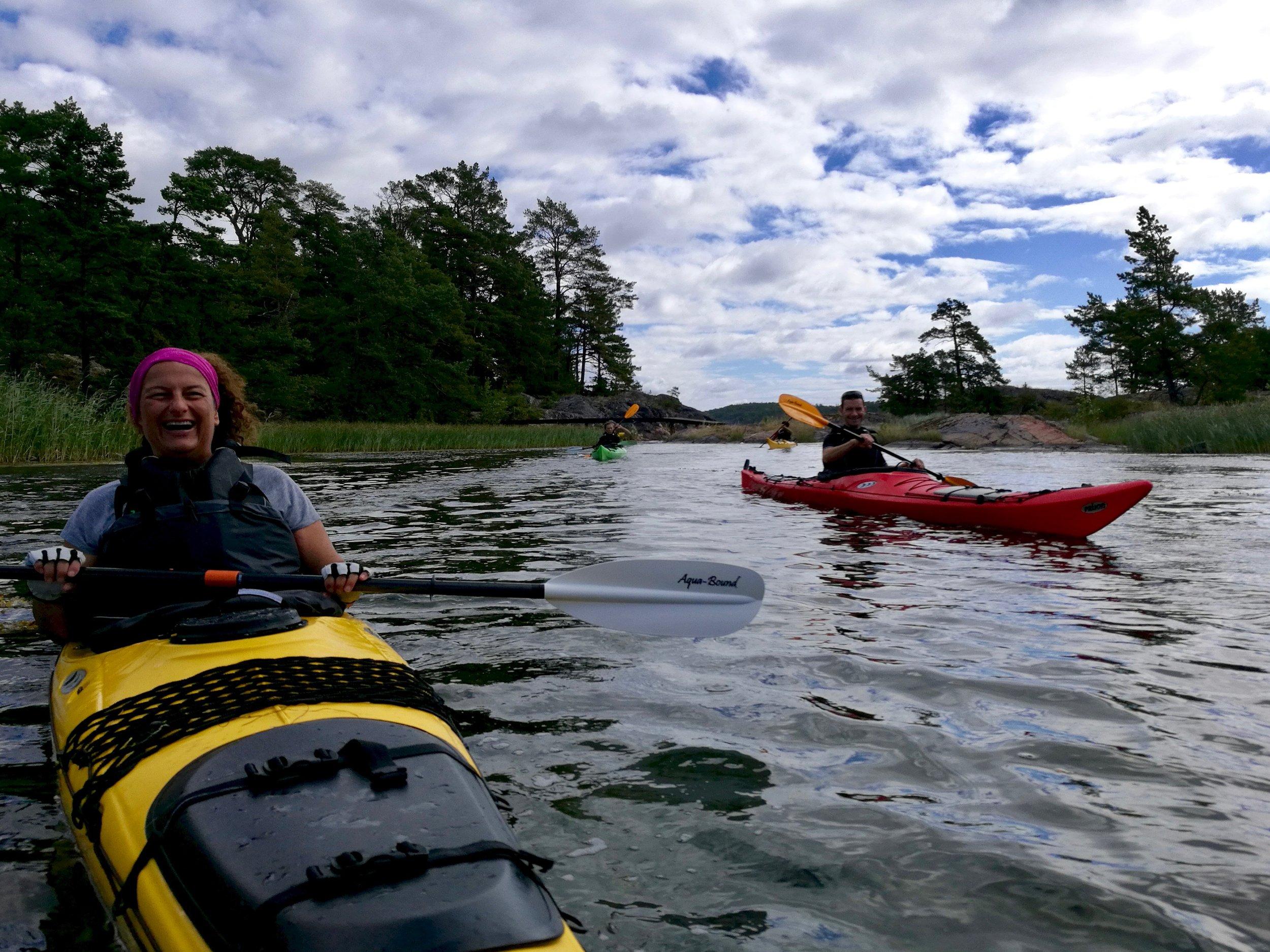 Stockholm Archipelago Kayaking 1 day 7