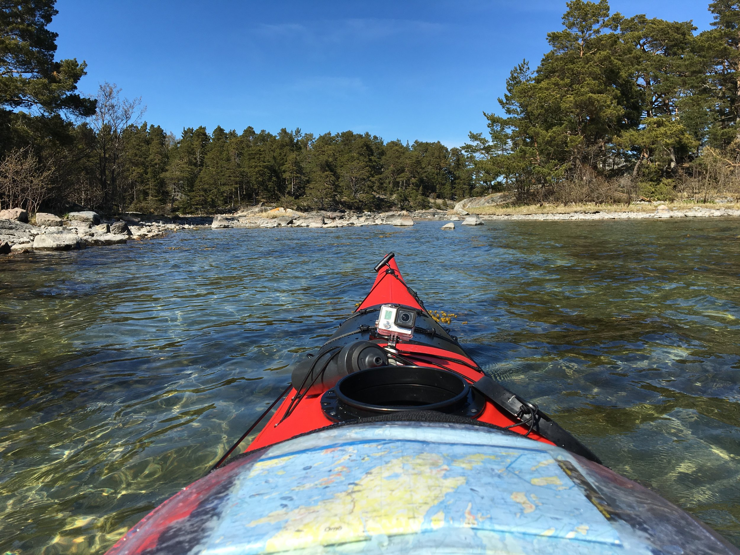 Stockholm Archipelago Kayaking Guided Tours 3 days 1