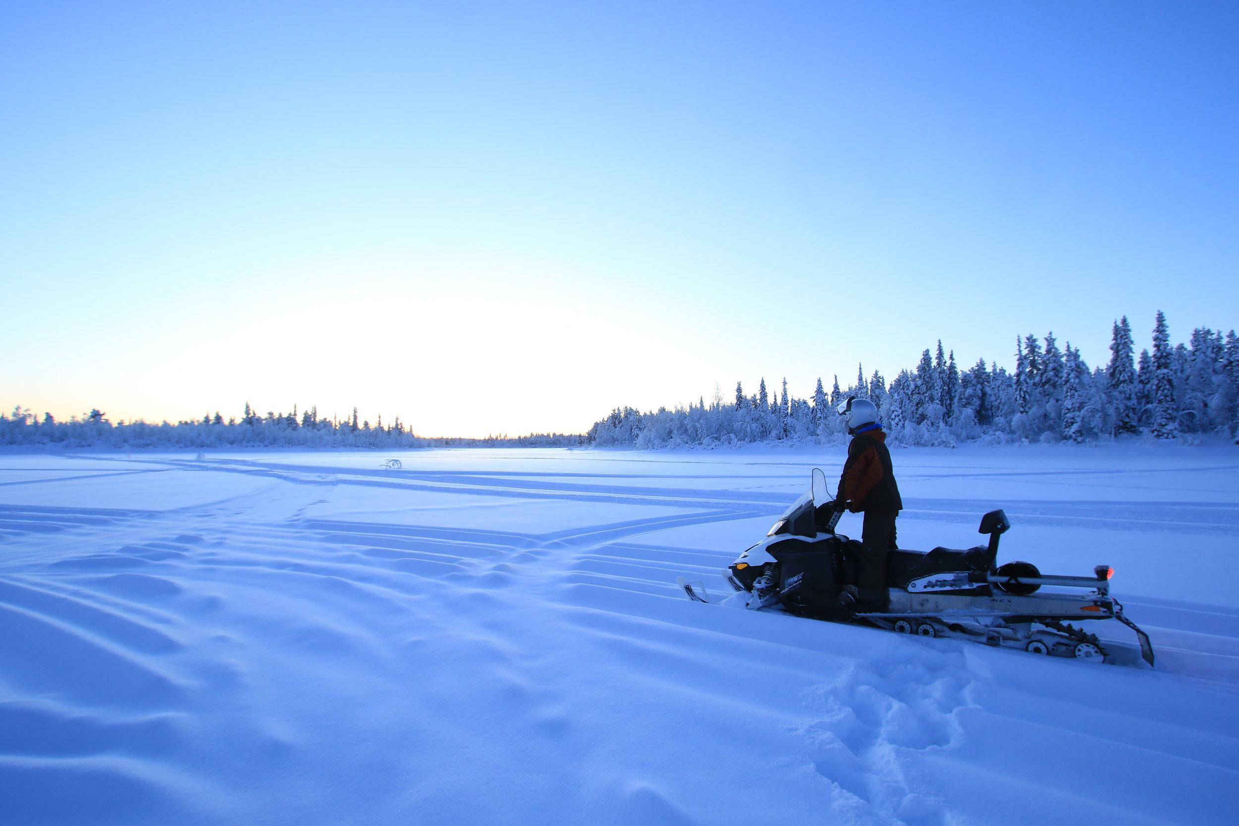 Snowmobil Arctic Adventure Lapland Tours Sweden Guided Tours