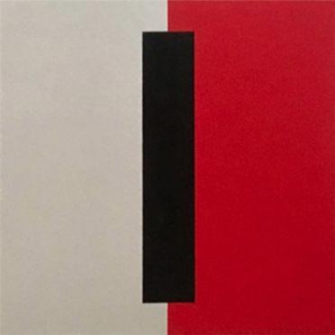 """18.30  20x20x2"""" Flashe vinyl paint on Cotton duck canvas"""