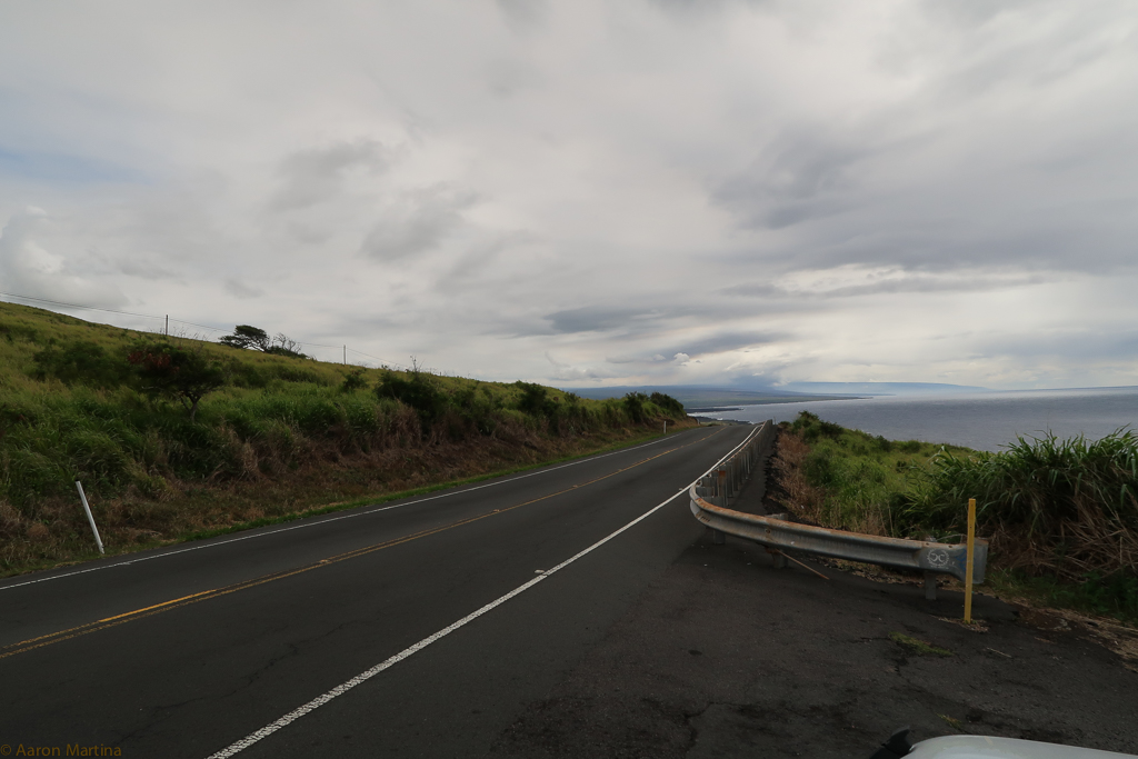 The highway to the volcano.