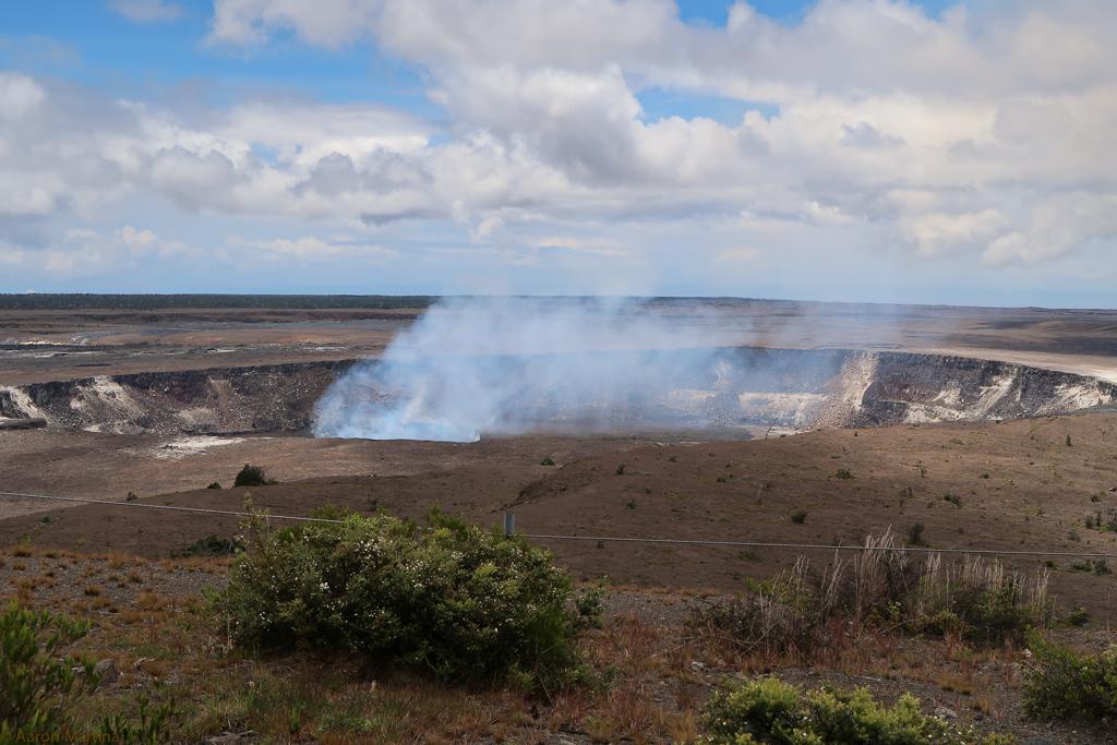The caldera a bit closer
