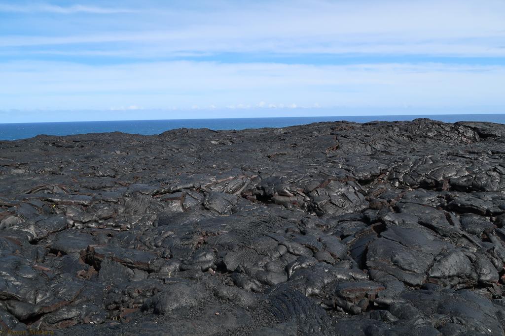A cold lava flow