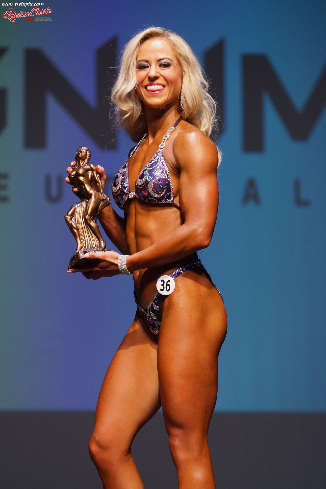 1st Place Figure Overall              Kelowna Classic                2017