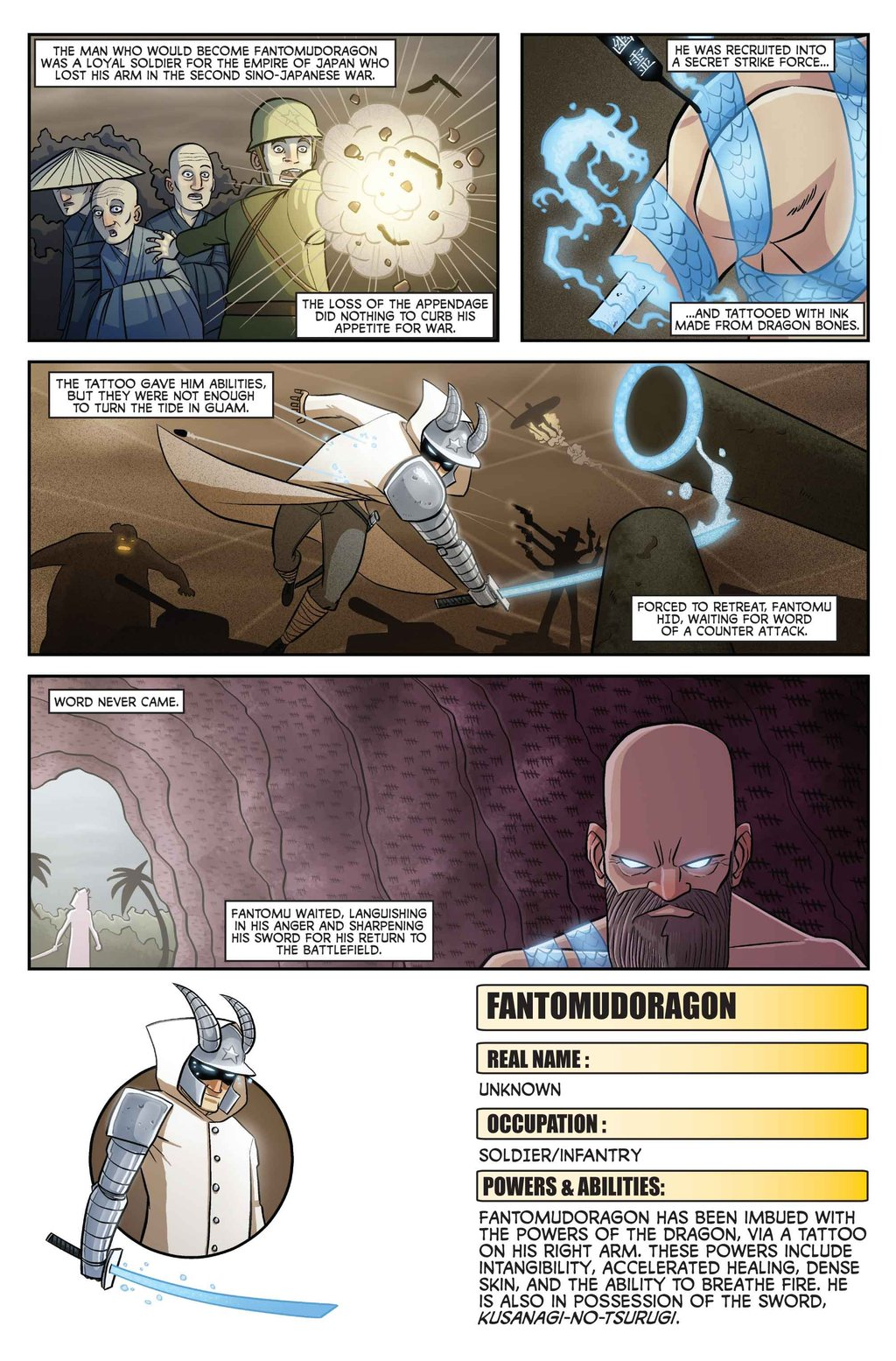 Fantomudoragon Origin Page