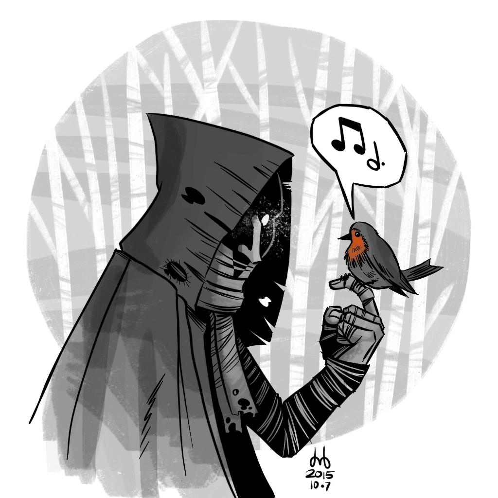 Hooded Watcher