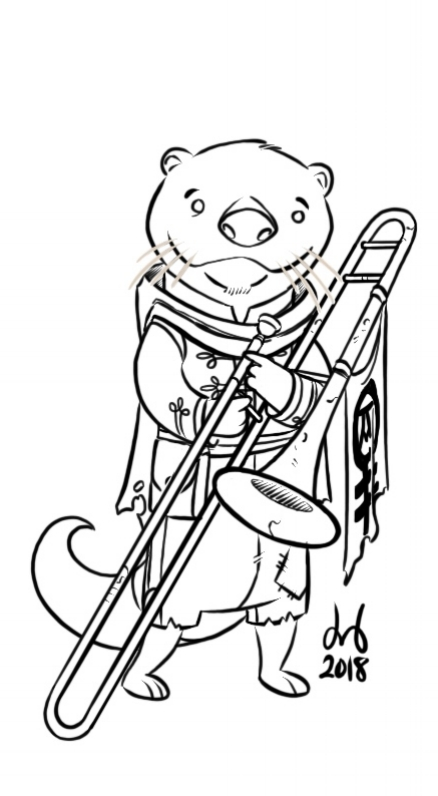 Trombonist Otter