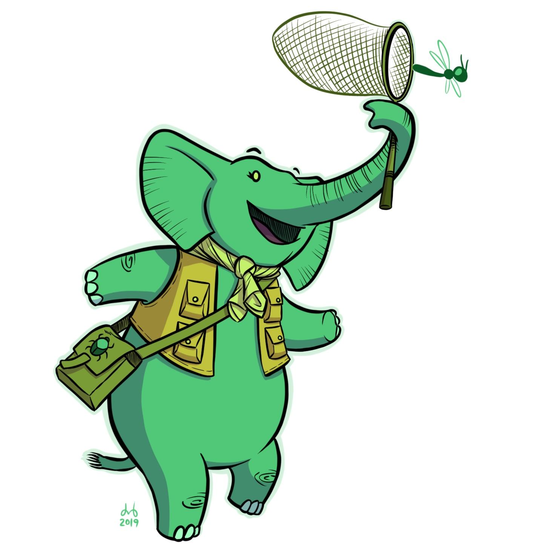 Emerald Elephant Entomologist