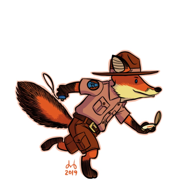 Flame Fox Forester