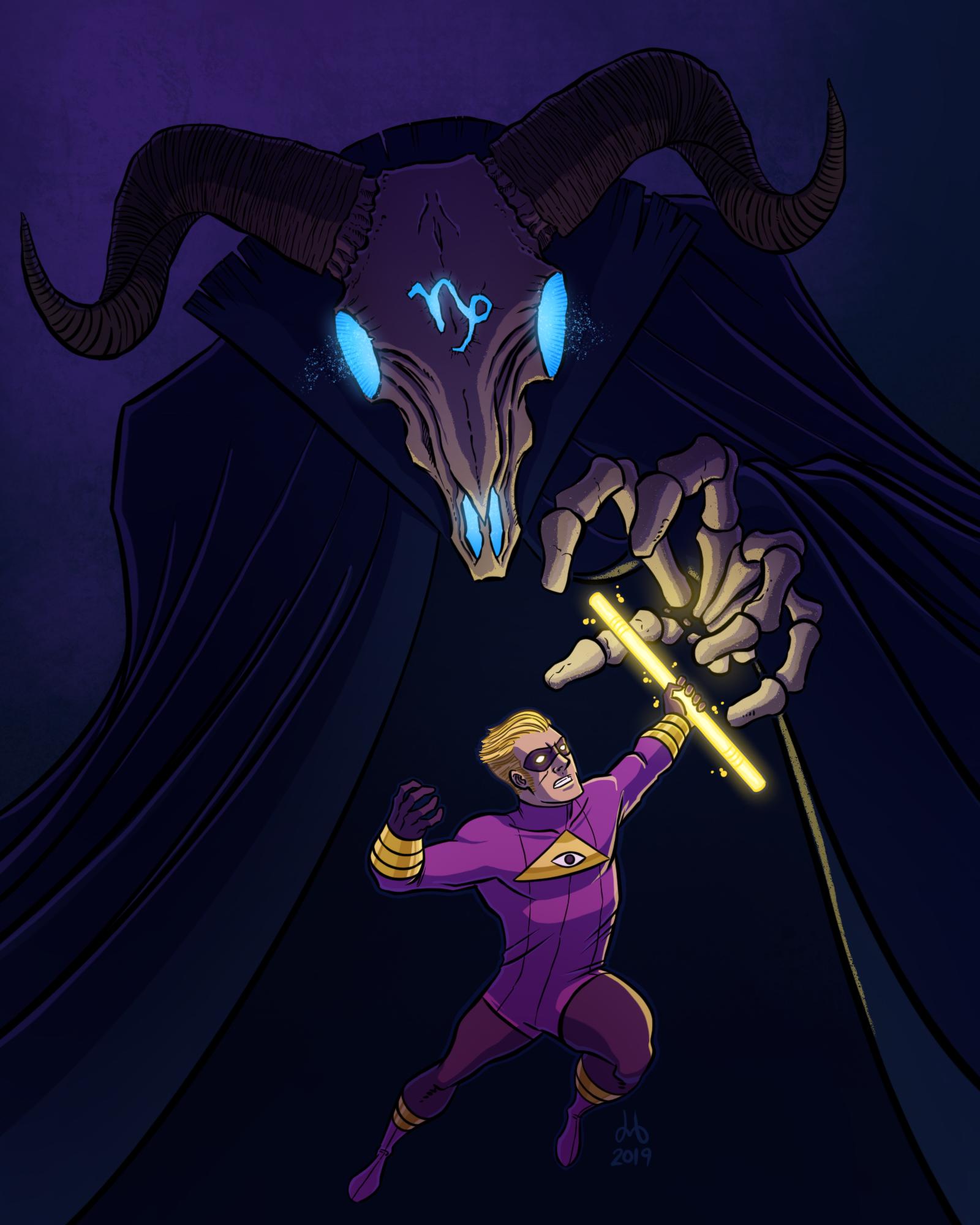 Secret Champion vs. Kaprikorn!
