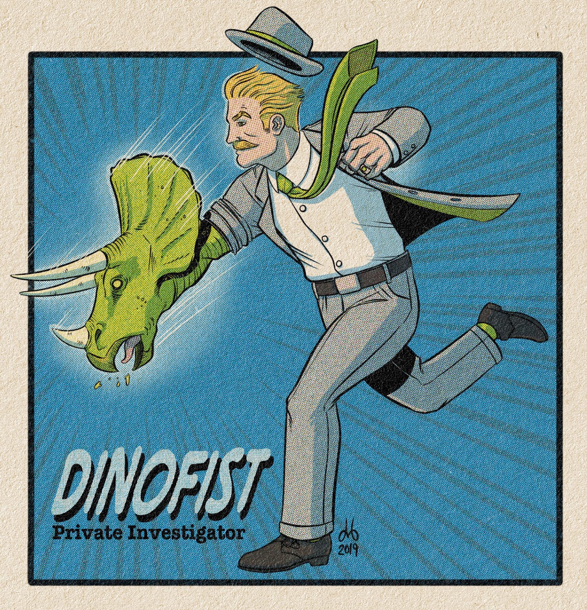 Dinofist, P.I.