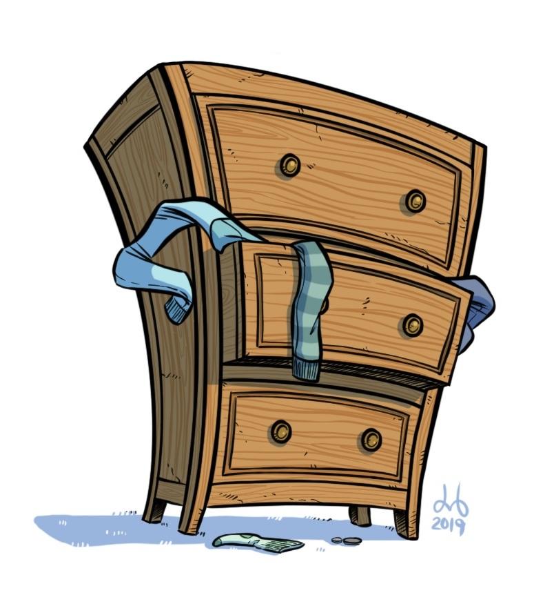 Dresser (with Attitude)
