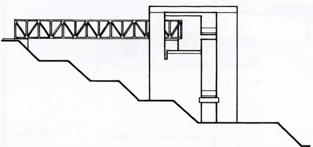 Elevation, Bianchi Residence by Mario Botta, from  Precedents in Architecture
