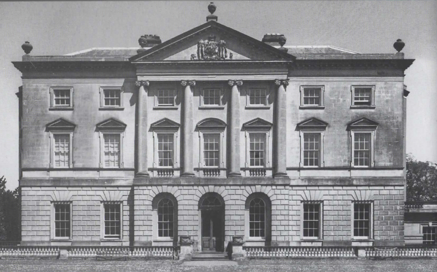 Front elevation, Castle Ward, Strangford Lough, 1767.