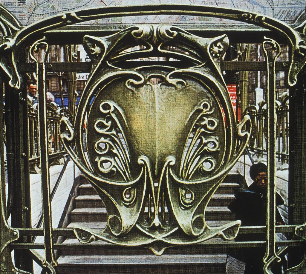 Guimard, Hector. Paris: Metro, Victor Hugo: Ext . c. 1900. Photograph.University of California, San Diego. ARTstore. Web. 04-11-2017.