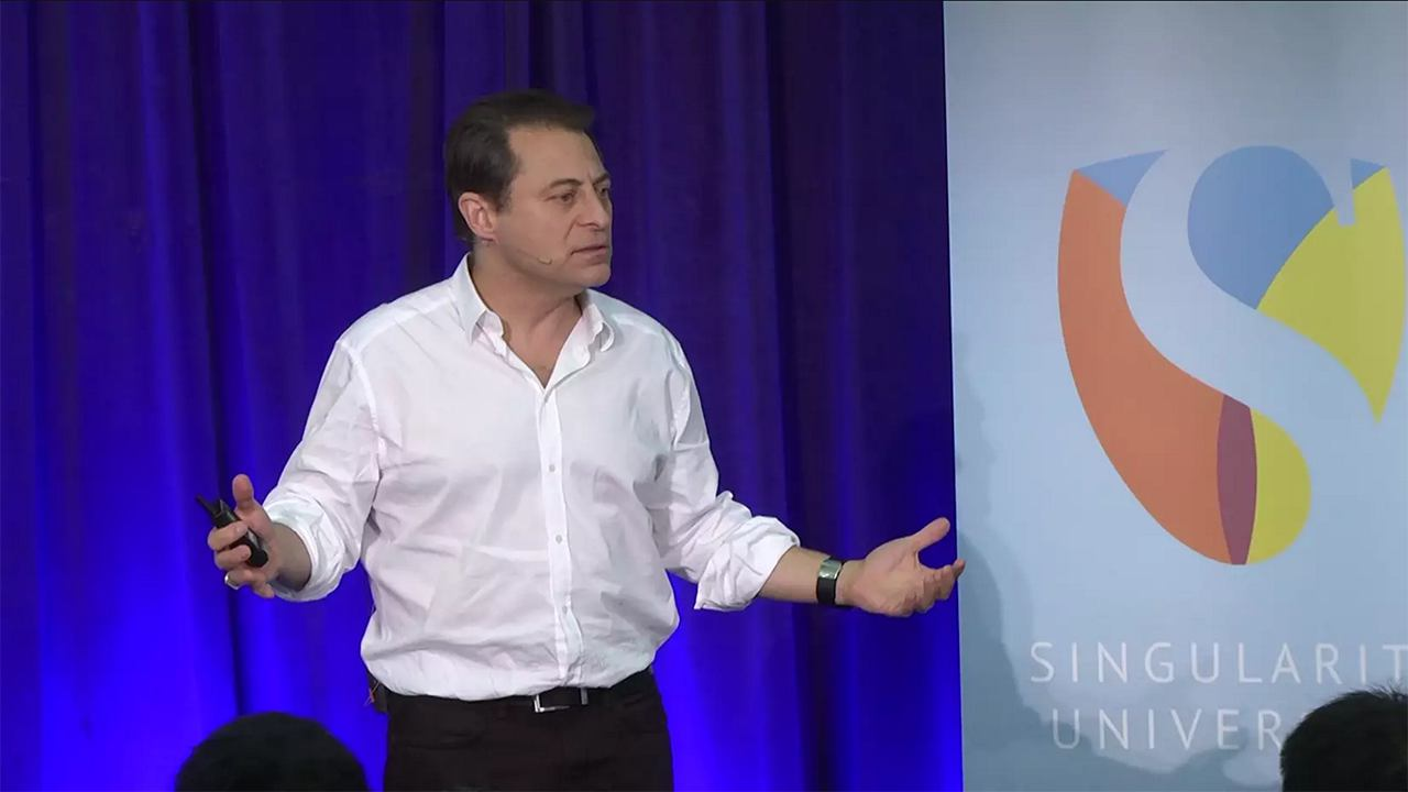 Peter Diamandis Photo by Singularity University