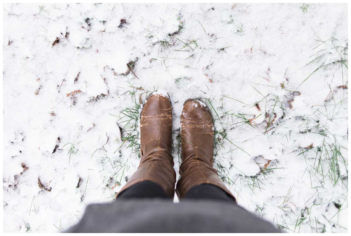 It snowed in Georgia and we went photo crazy! This never happens!