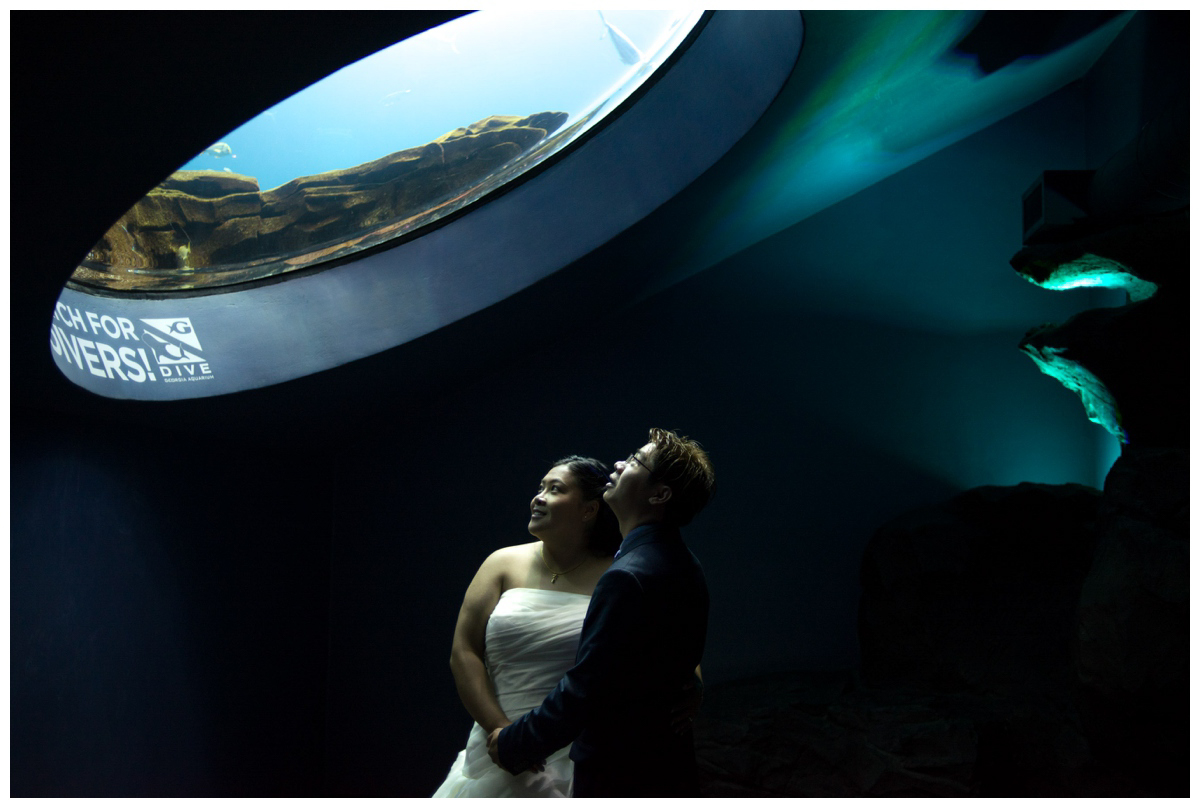 We had the entire aquarium to ourselves afterhours to take pictures. Such an amazing experience!
