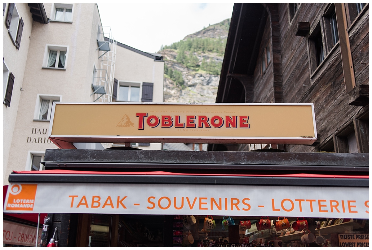 Did you know.....Toblerone chocolate is shaped like the Matterhorn mountain. Mind blown!