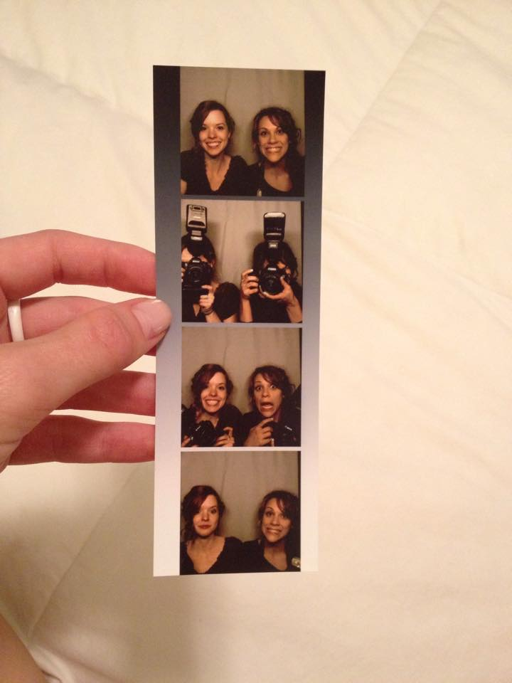We love photobooths at weddings!