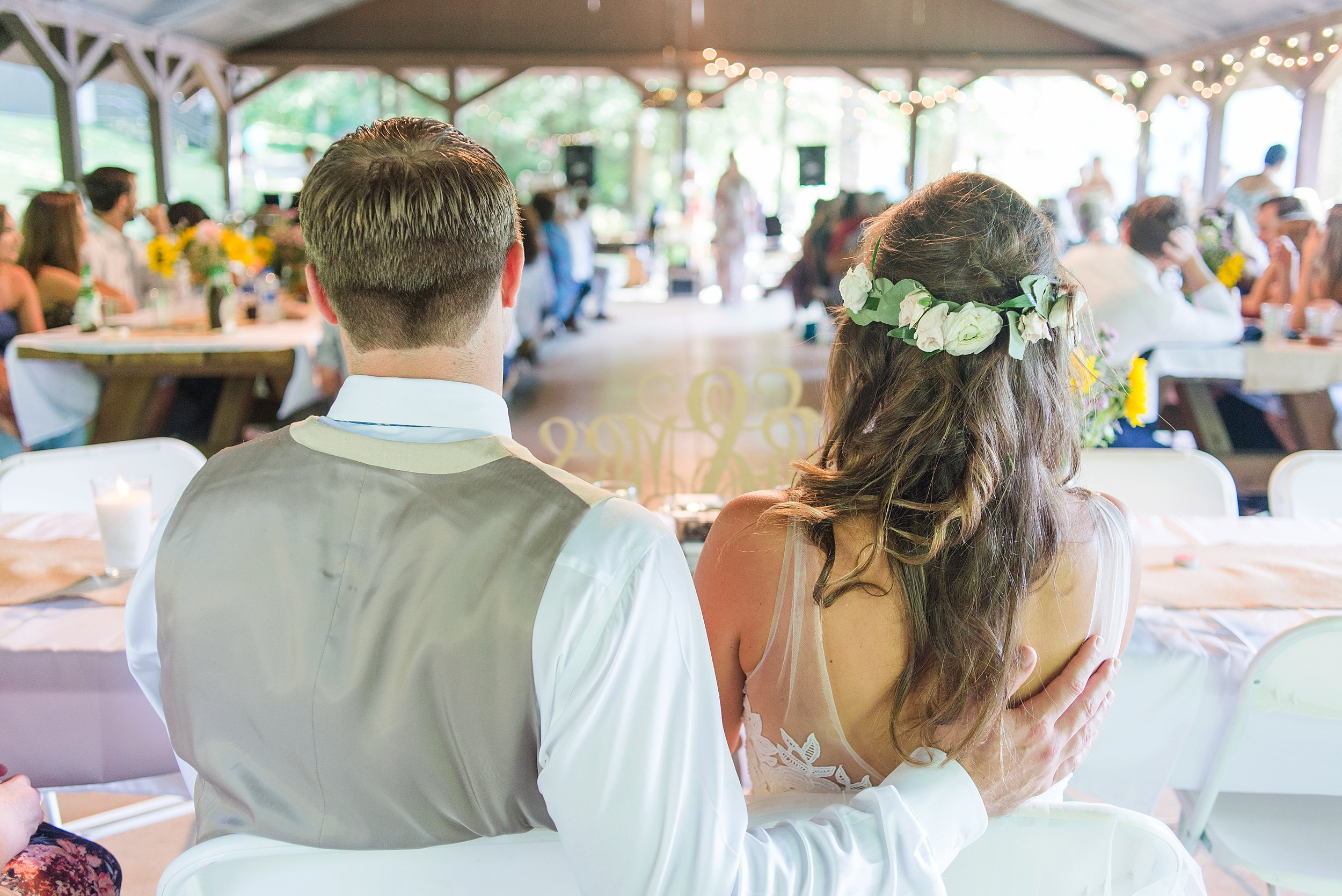 It was so fun to hear the various memories that a few of the wedding guest shared! Ethan and Becky are truly an amazing couple!