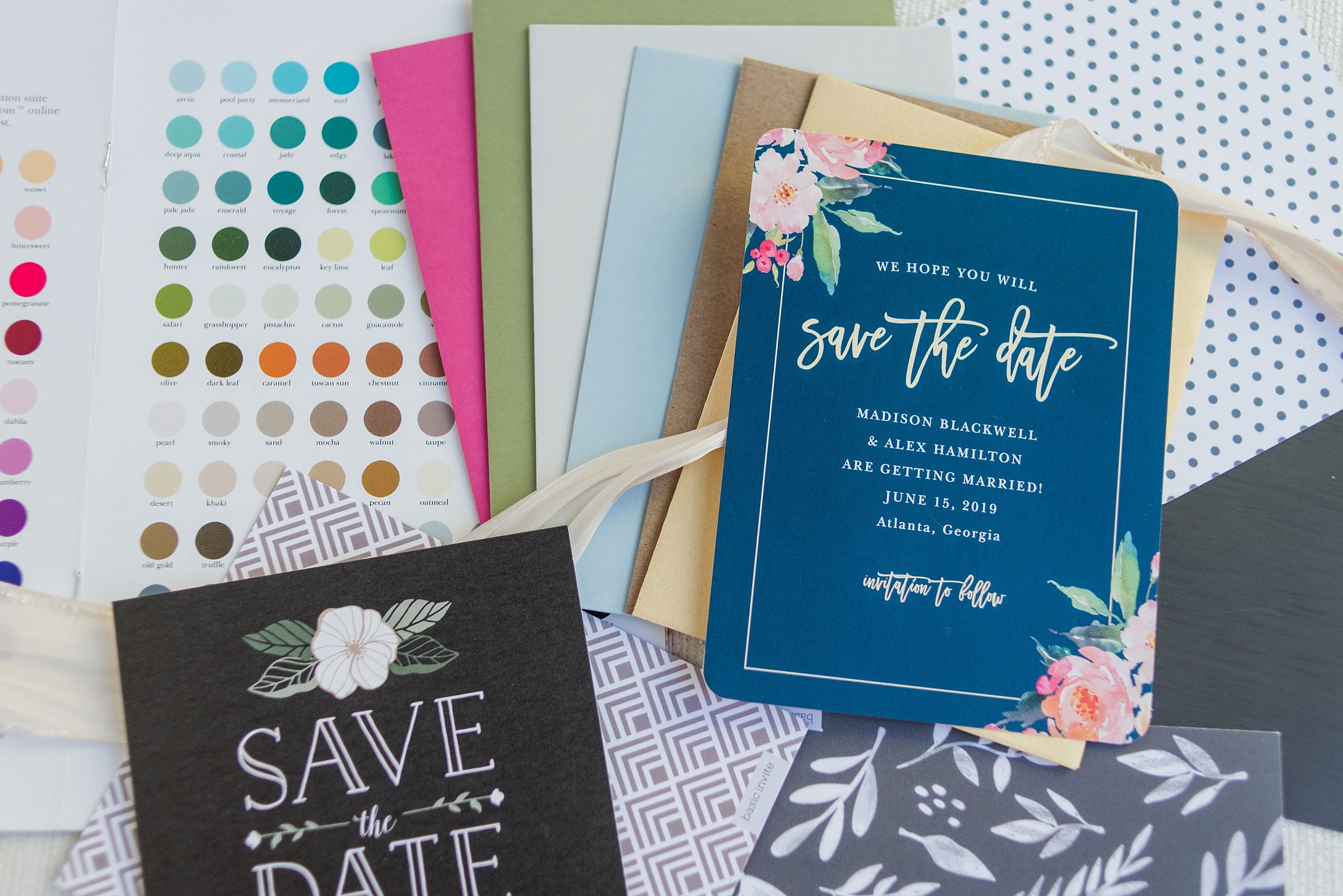 Romantic Save The Date Cards My Favorite Designs From