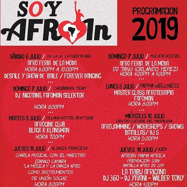 La #afroin se toma Mulata este domingo con su #afroferia de la moda. No se la pierdan...mañana 4PM!!!!