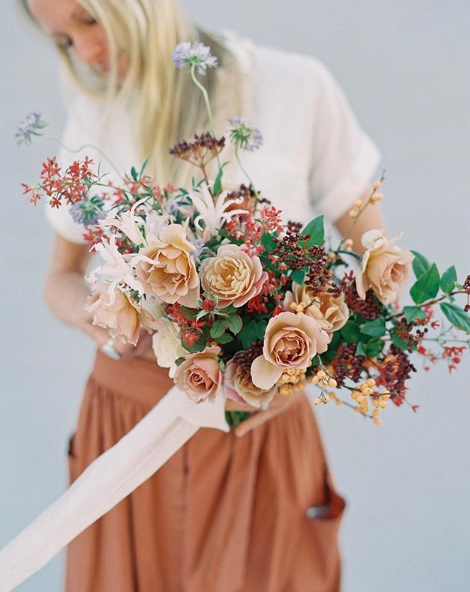 Floral Design by Plenty of Petals . Image by Sposto Photography