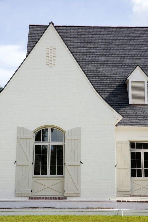 Painted Brick /  Telich Custom Homes