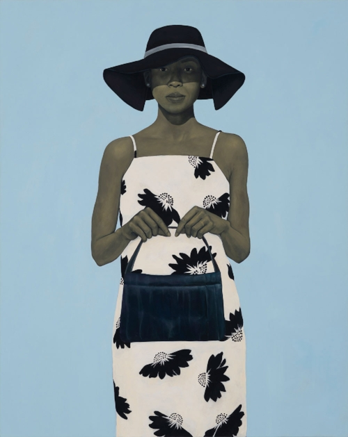 """You a City of a Woman. You Got a Geography of your Own,"""" by Amy Sherald."""