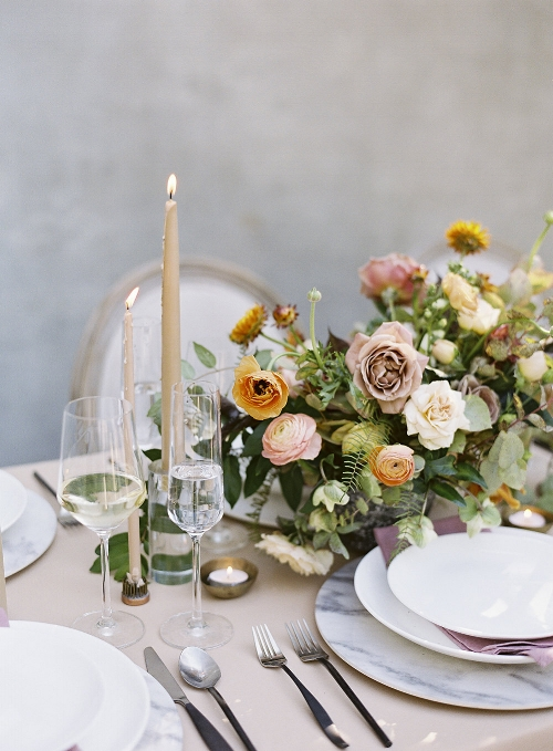 Photo by  Josh Morehouse    Flowers by  Amy Osaba