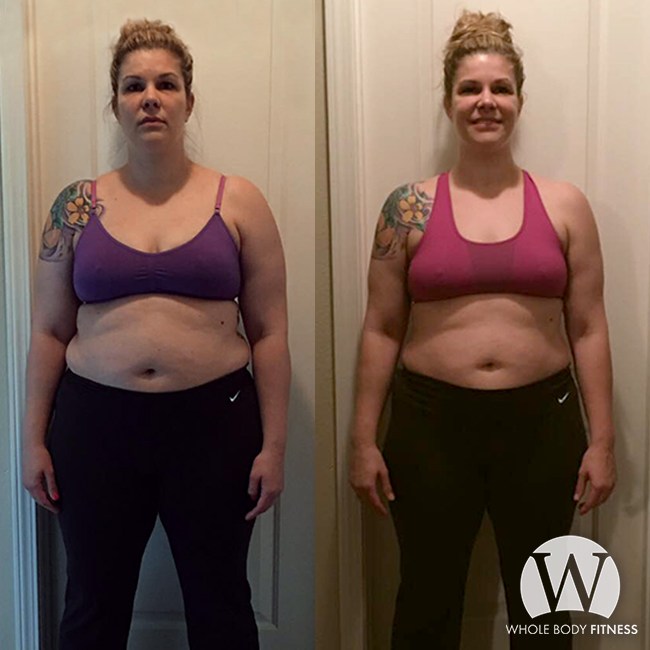3 Month Transformation — Weight Loss — Whole Body Fitness