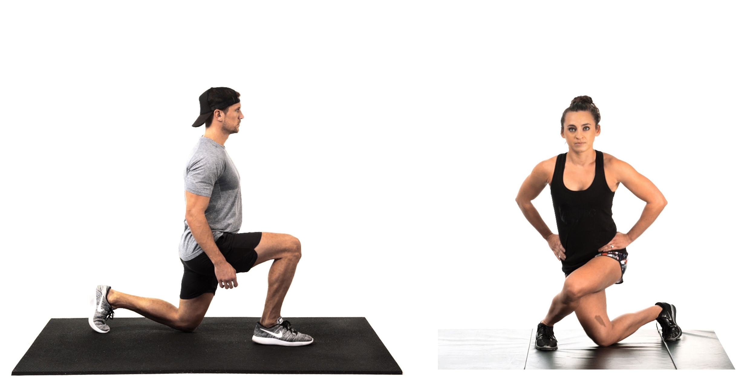 Whole Body Fitness Lunge