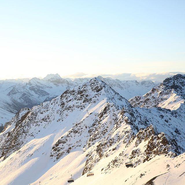 Damn, Switzerland is dope #nofilter #jakobshorn #switzerland