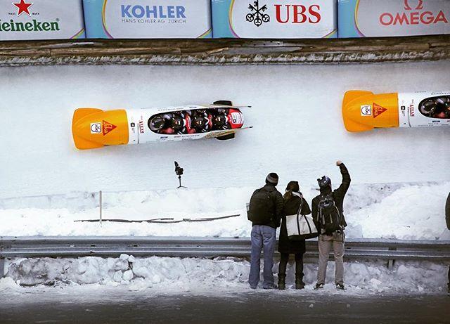 Feel the rhythm, feel the rhyme... HAPPY NEW YEARS!! #bobsled #switzerland