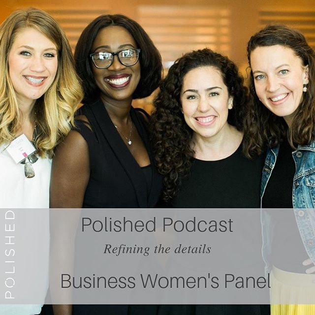 This week's episode is brought to you by three of our favorite women dominating their industries in Corporate America! 🙌🏼👊🏼We can't wait for you to give this episode from one of our Dallas events last spring a listen. Not only did our panelists share insight into how we can be our most authentic selves in the workplace, but they're hilarious, too! You'll catch yourself laughing out loud as you enjoy their authenticity and bits of wisdom. Our biggest takeaway: you do you and be kind to others. Share with us what your biggest takeaway from this episode is! We'd love to hear from you. Happy listening, friends.✨ . . . #podcasttuesday #youngprofessionalwomen #navigatingcareerandfaith #networkingevent #businesswomenspanel #polishedpodcast #youdoyou