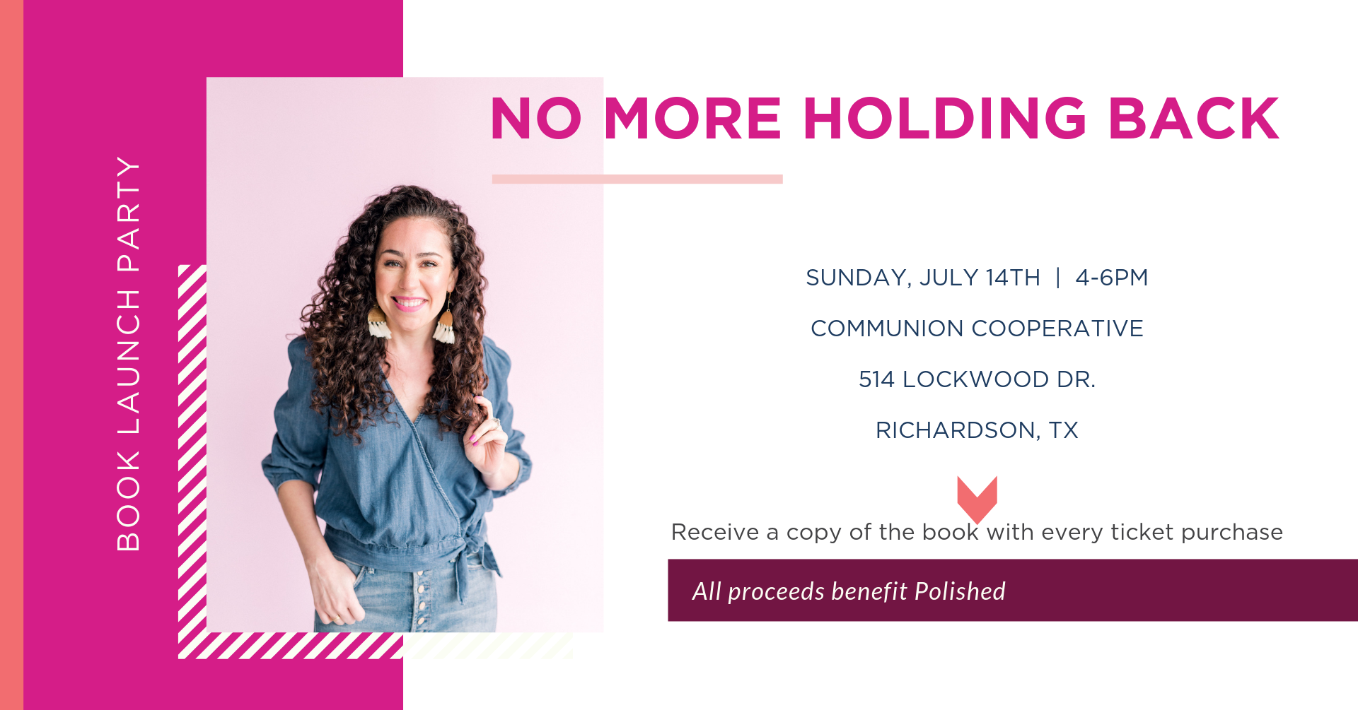 No More Holding Back by Kat Armstrong