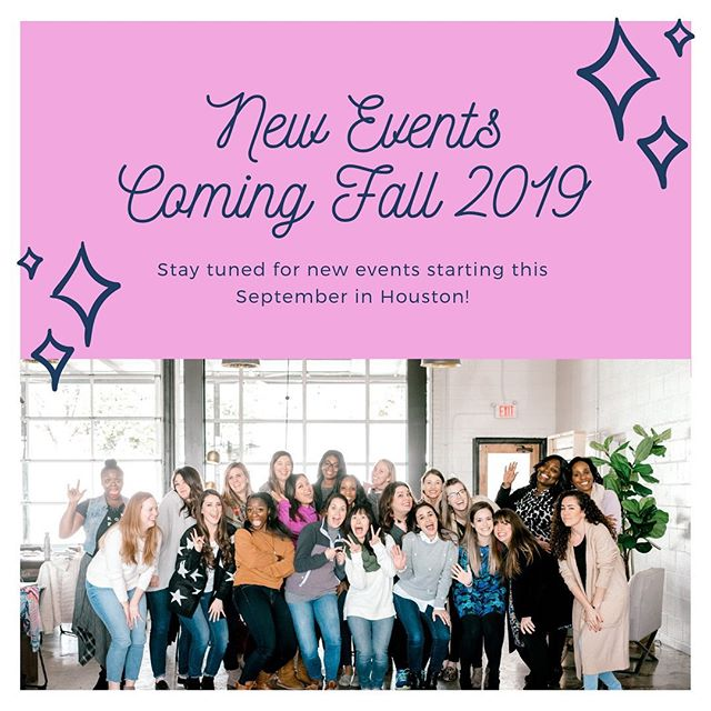 We can't wait to share what's in store for our Fall events starting in September!!! 🙌🏼 Be sure to follow us to stay up-to-date on all the happenings! . . . #polishedhtx #womeninfaith #refiningthedetails #polishedonline #fallevents #fall2019 #amazingspeakers #lunchevents #dinnerevents #brunch #houstontx #htx #htownproud #htown #houston #thegalleria #polishedgalleria