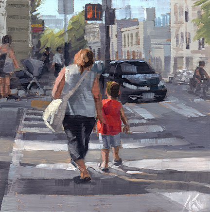 Walking Home with Mom