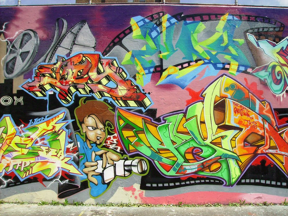 Graffiti Hall of Fame East Harlem New York City