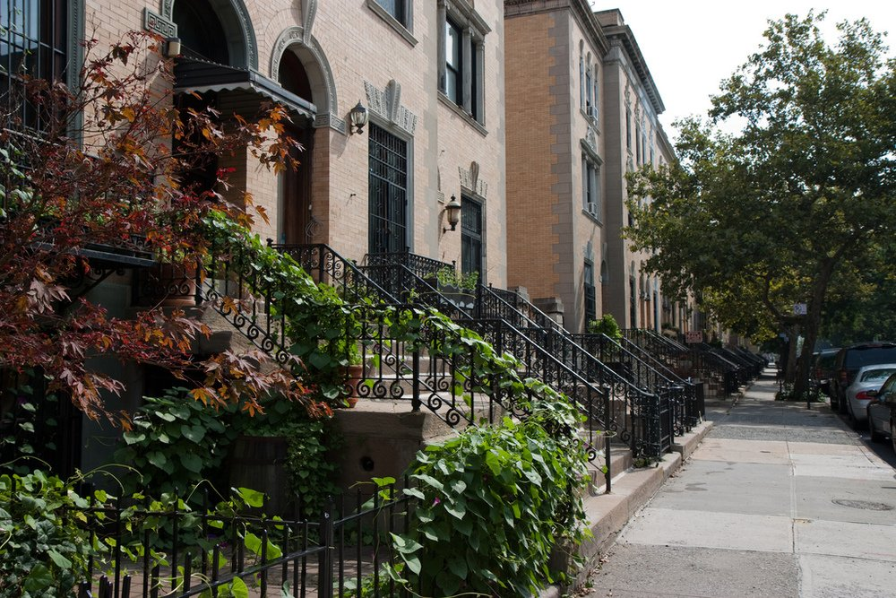 Strivers Row Harlem - New York City