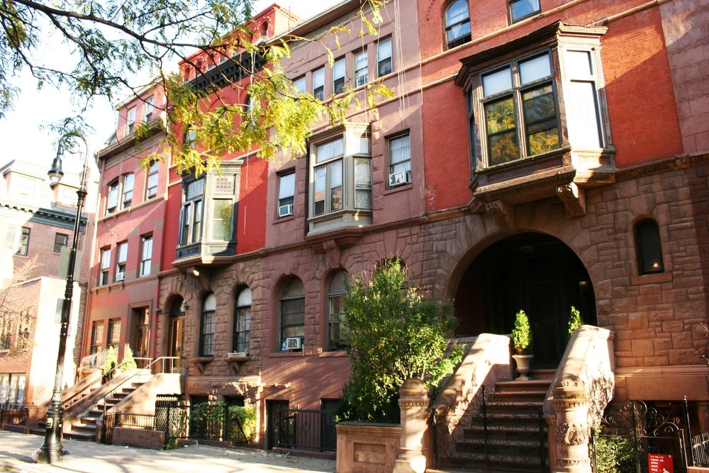 Harlem Brownstones -996