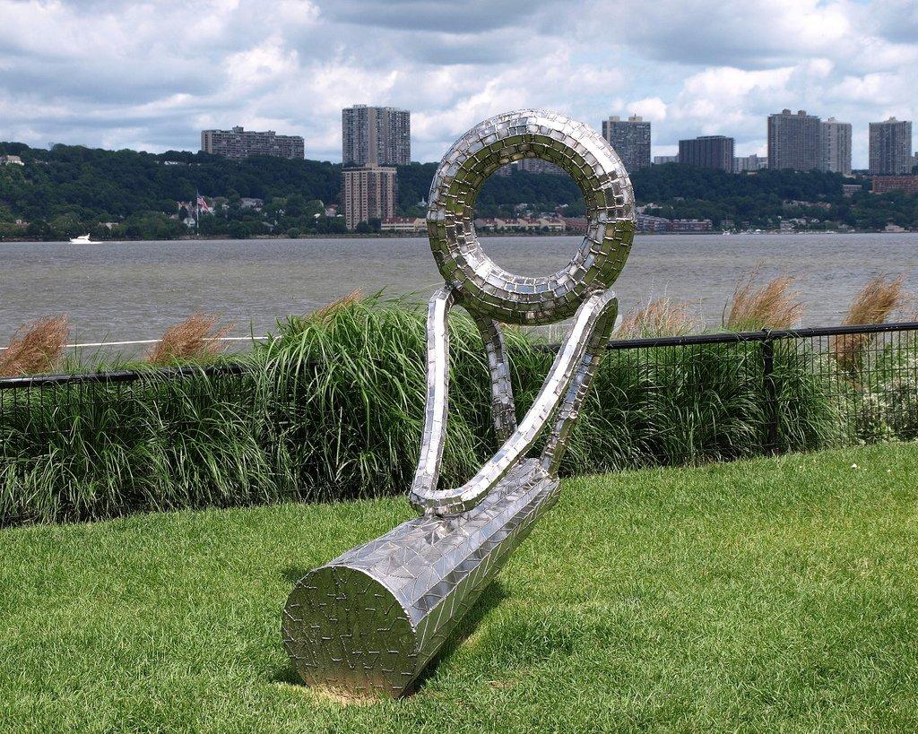 West Harlem Piers Park 2C Hudson River