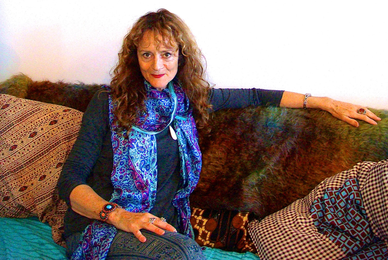 Janice Everett in her Brooklyn Studio