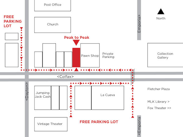 Ample free parking just steps from the brewery!
