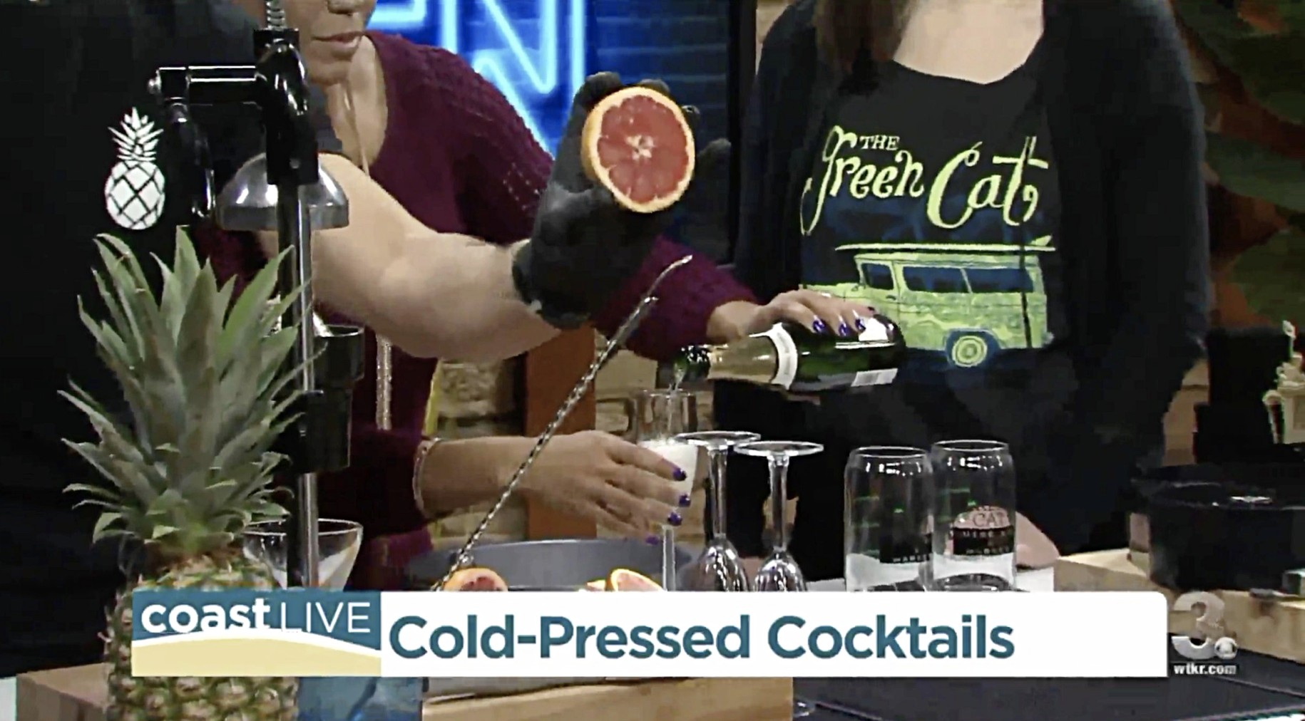 Fresh Pressed Mimosas & Cold Pressed Bloody's! -