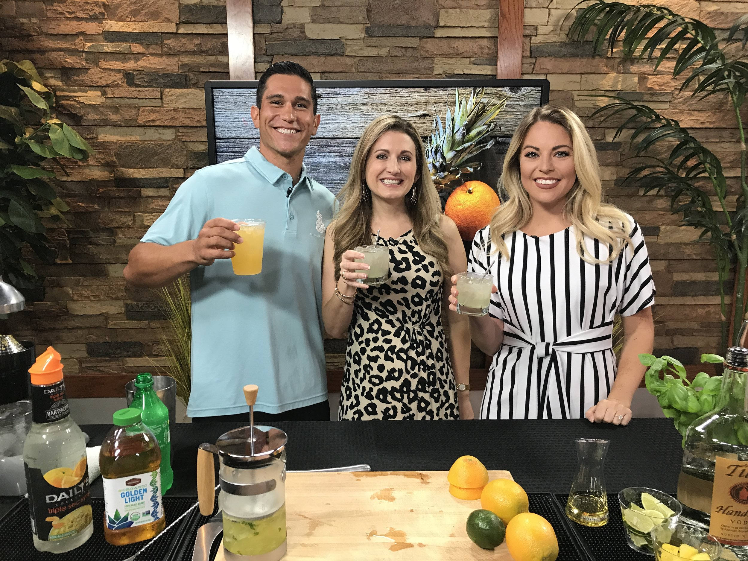 Getting a taste of summer with fresh pressed cocktails -