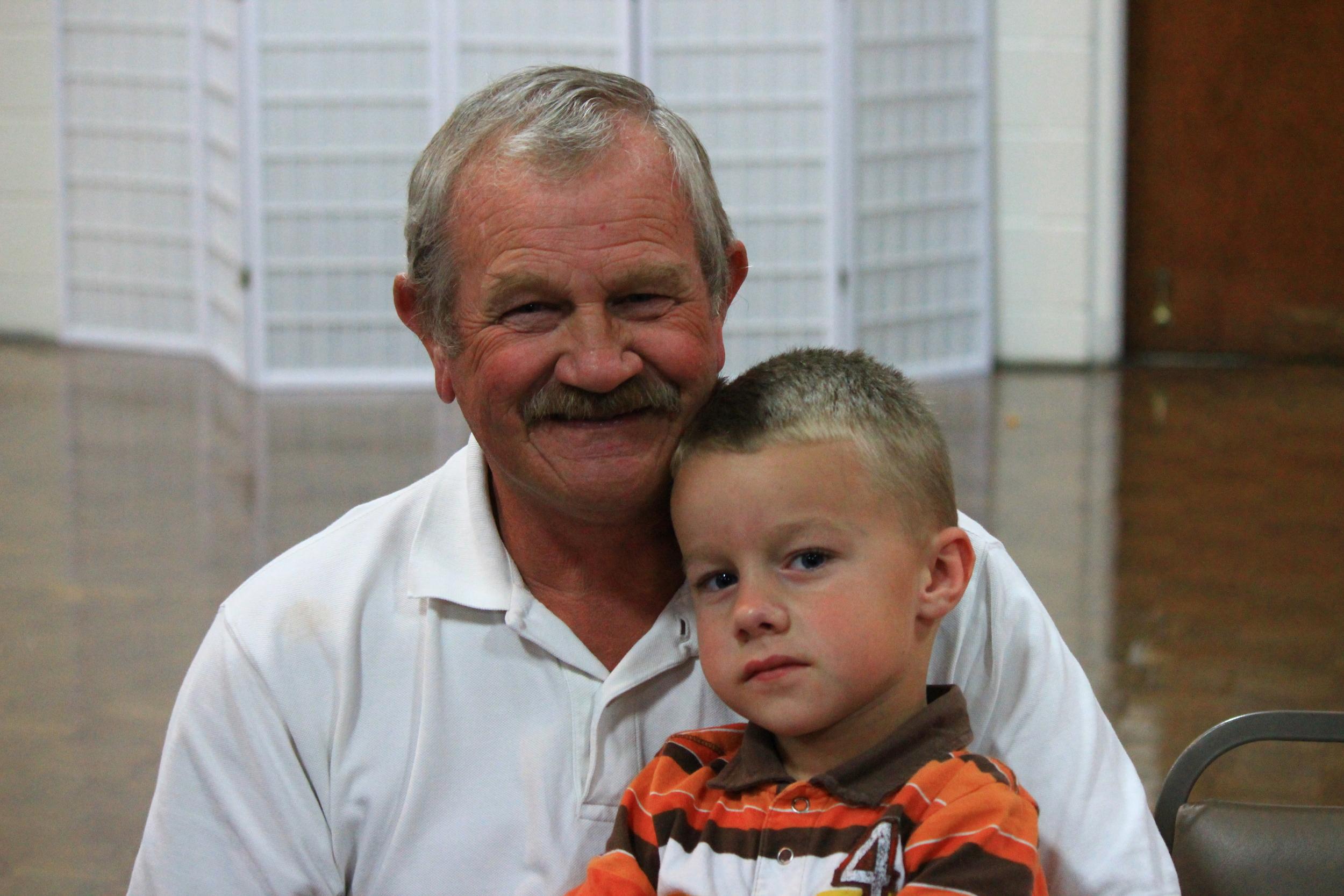 grandpa and grandson
