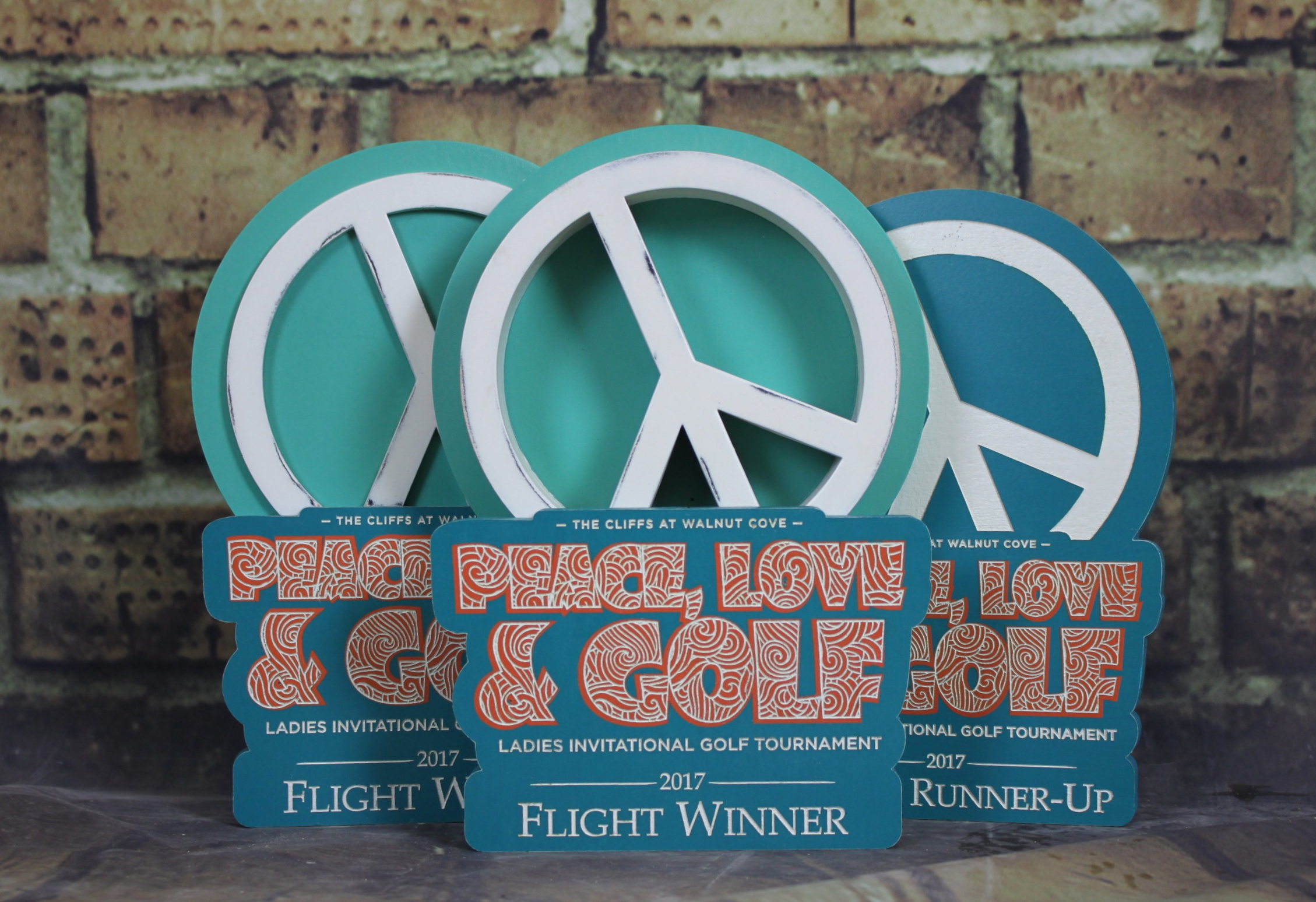 Peace, Love, and Golf: $35/55/75