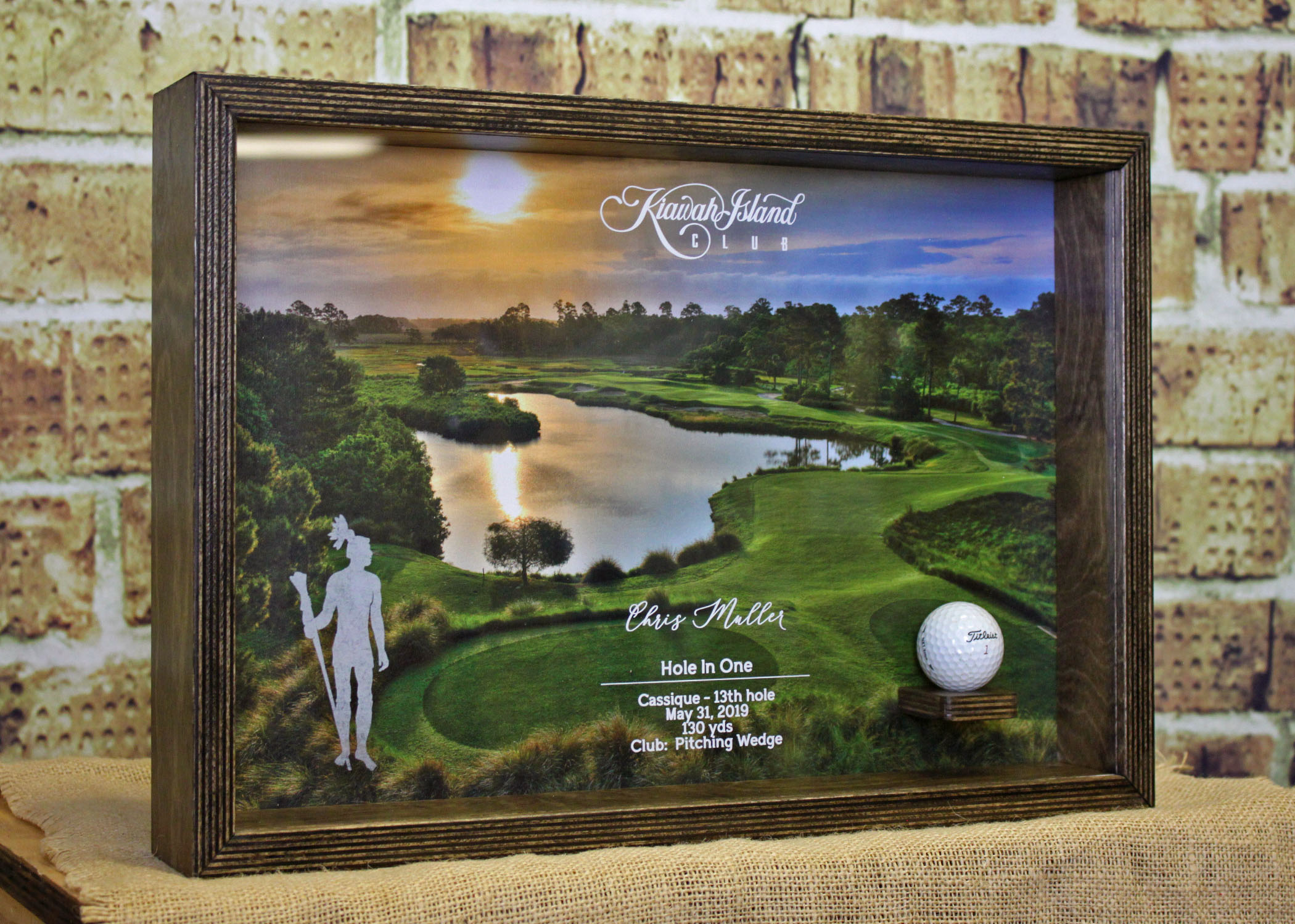 2Kiawah Island Hole in One Trophy - $135